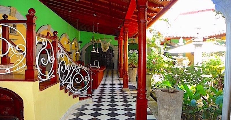 corridor stairs